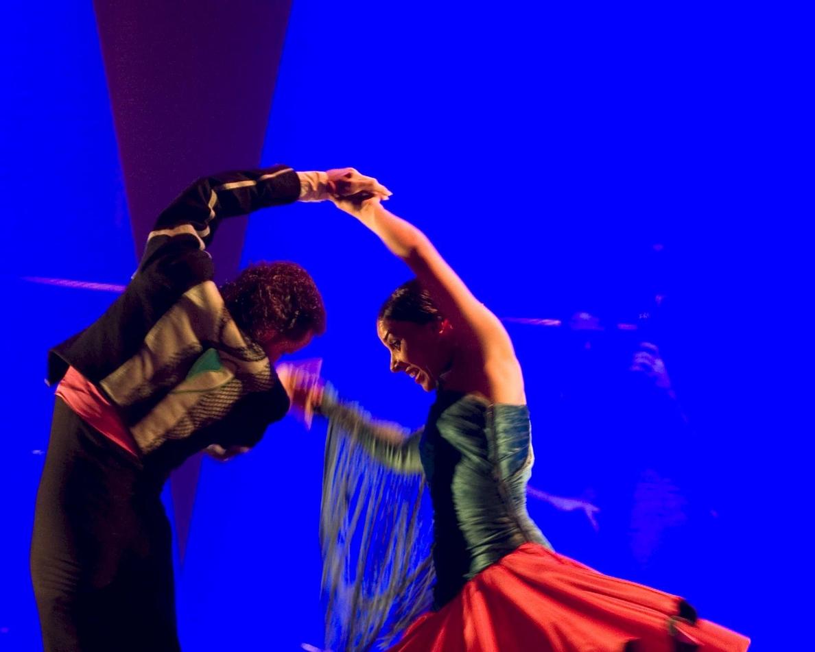 El Festival de La Unión presenta con éxito su Ballet Flamenco Cante de las Minas