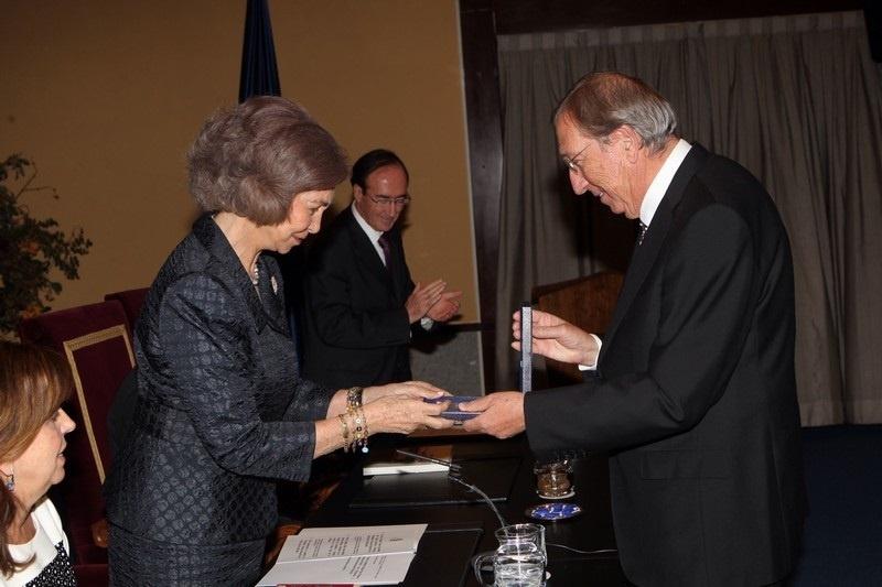 Juan Navarro Baldeweg recibe este lunes la Medalla de Plata de la ciudad