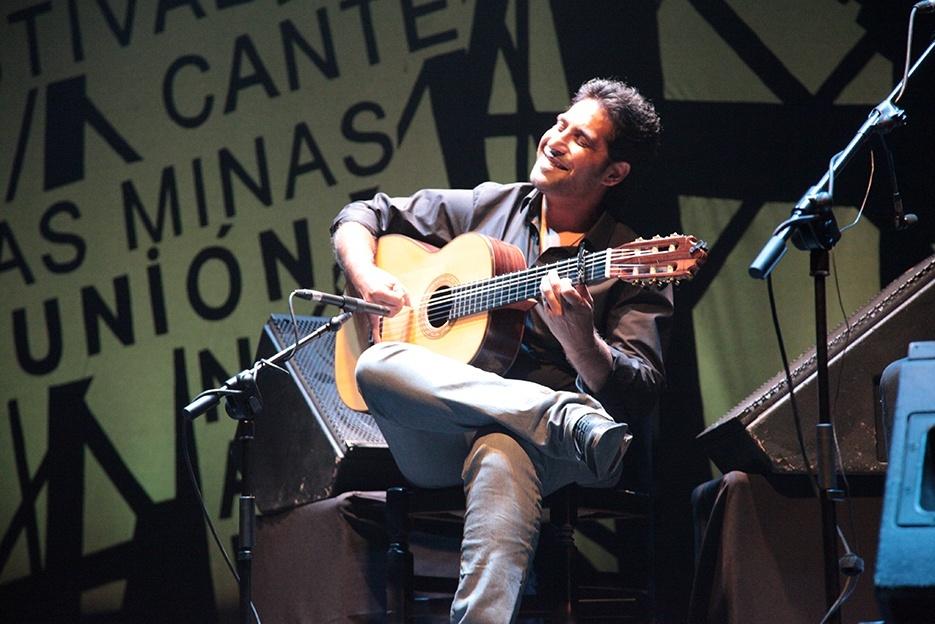 »Niño Josele» derrocha jondura y sentimiento en su primera actuación como solista en La Unión