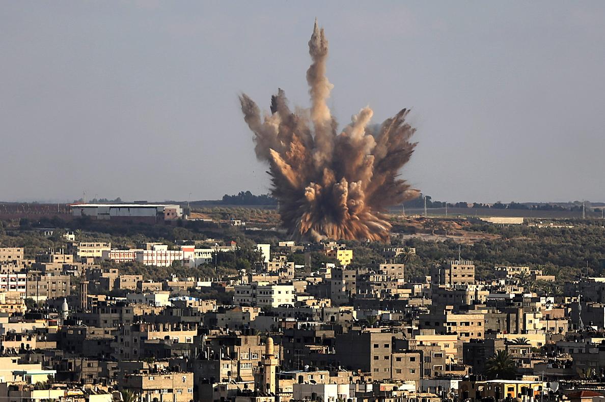Siguen los enfrentamientos de baja intensidad entre Israel y Gaza