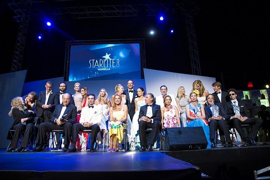 La gala Starlite reúne a casi un centenar de »celebrities» y personalidades culturales
