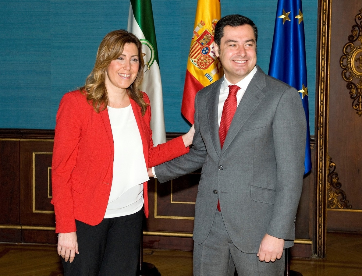 Susana Díaz mantiene su oferta de pactos al PP-A si ya «ha terminado de arreglar lo que tuvieran que arreglar»
