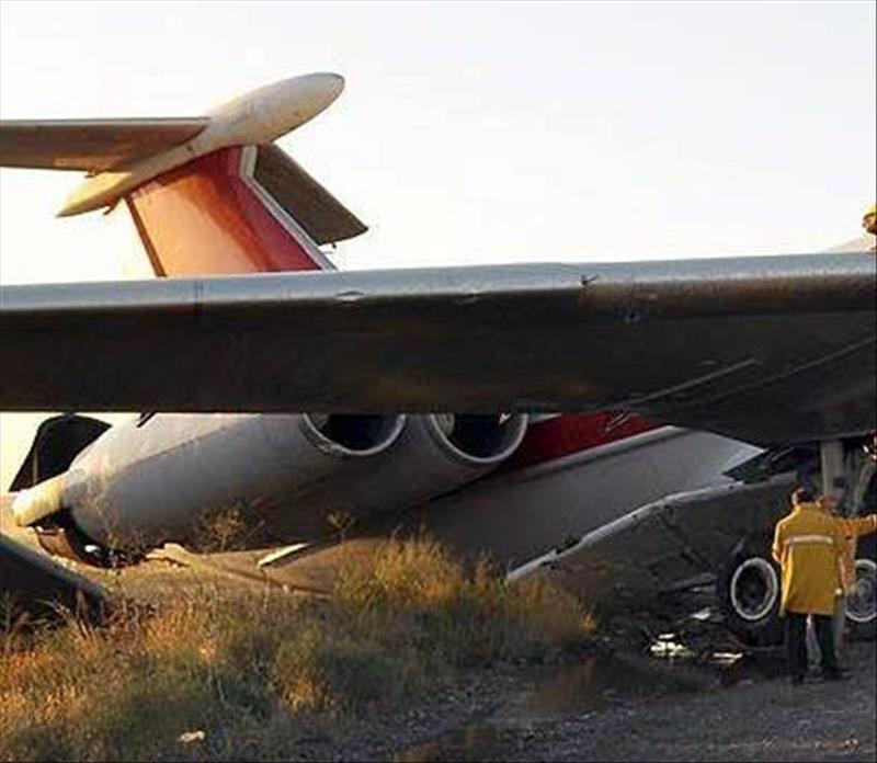 40 muertos al estrellarse un avión en Teherán
