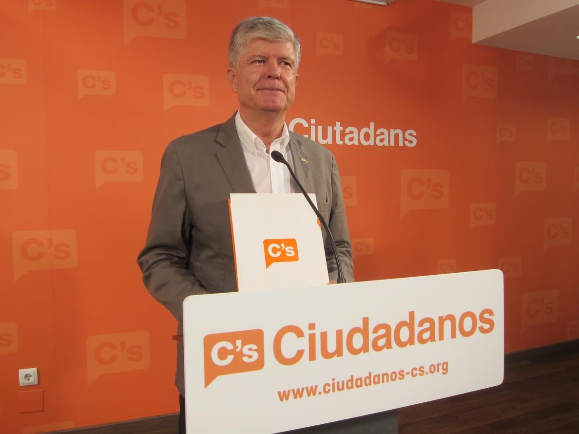 Alonso (C»s) cree que el PSC mantiene su «habitual equidistancia» respecto a la Diada