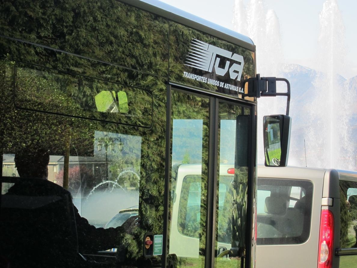 Aumenta el número de usuarios que utilizan el autobús urbano en Asturias, hasta los 2,6 millones en junio