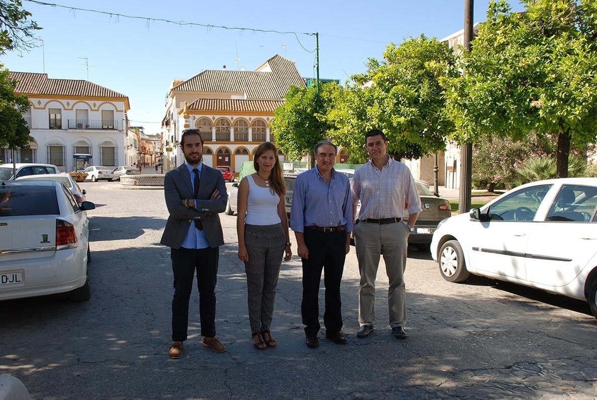Comienzan este lunes las obras de reurbanización de Plaza de Andalucía y Avenida de Córdoba en Palma del Río