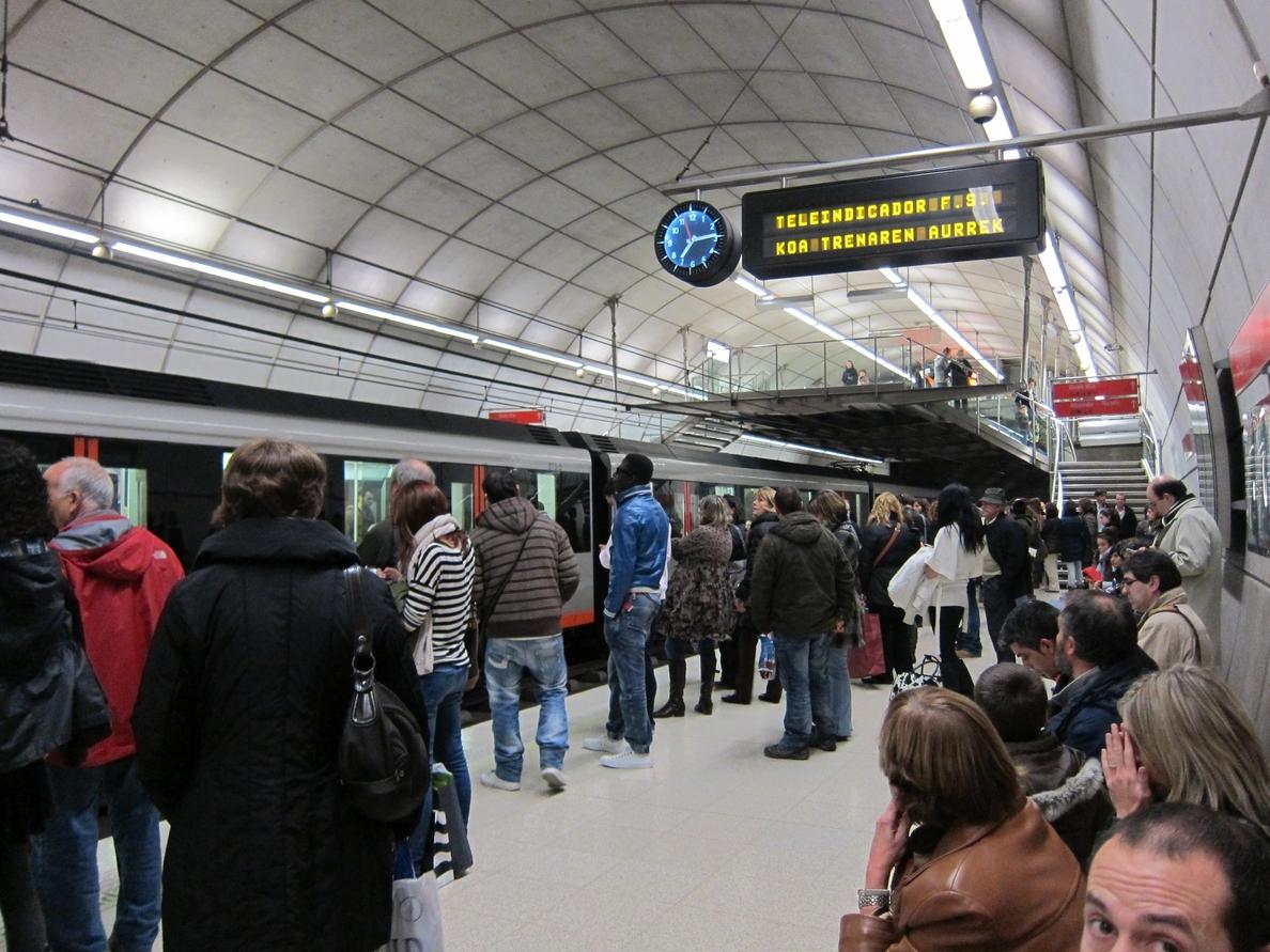 Metro Bilbao circulará las 24 horas durante, del 14 al 24 de agosto, para atender la demanda por Aste Nagusia