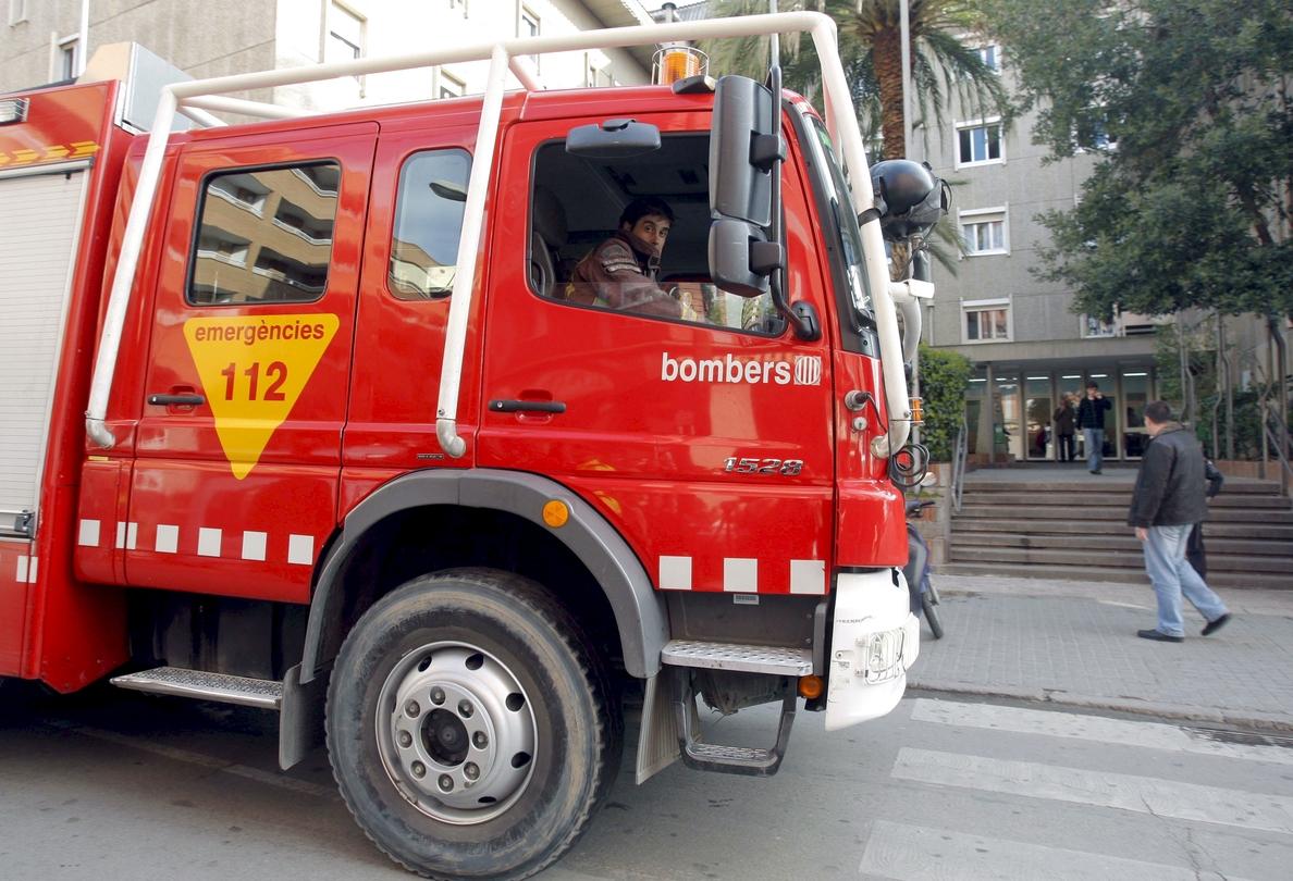 Muere una mujer al estallar una bombona de butano en una vivienda de Lleida