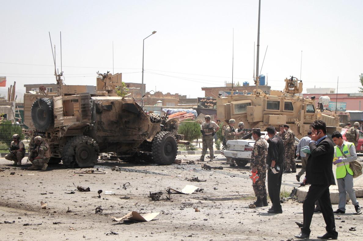 Mueren 21 insurgentes en un bombardeo de la OTAN en el oeste de Afganistán