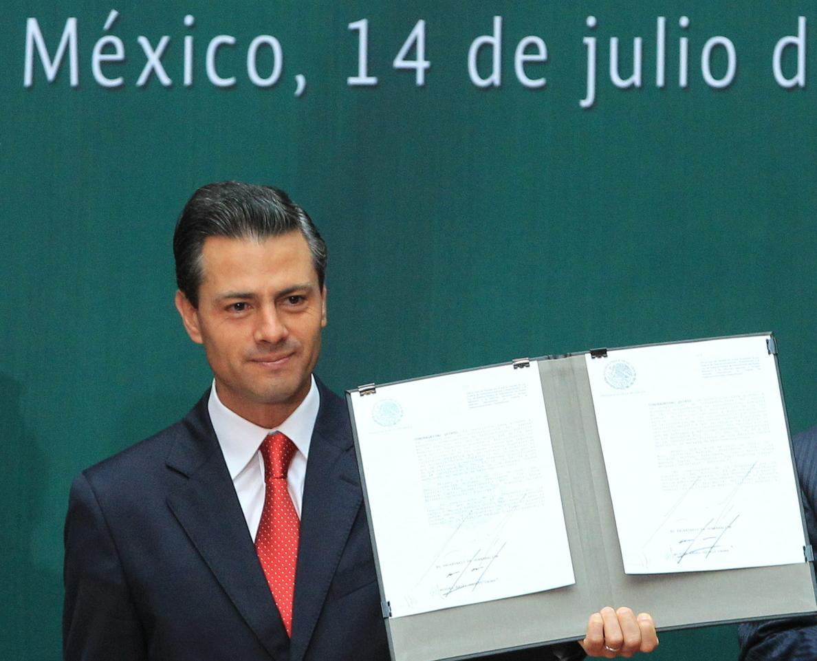 Peña Nieto promulga este lunes las leyes secundarias de la reforma energética