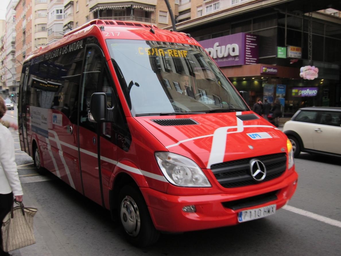 La Región de Murcia registra el octavo mayor descenso en el número de viajeros en autobús en junio