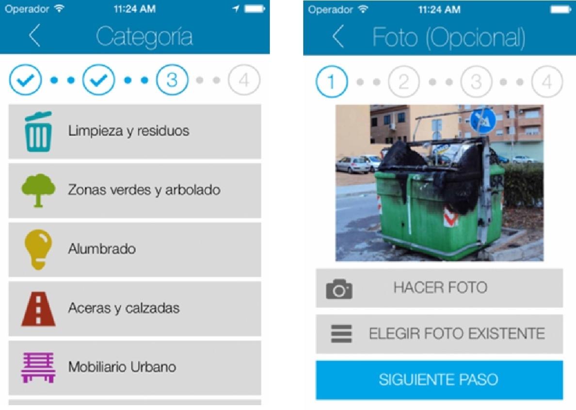 El Ayuntamiento pone en marcha una nueva App que permite a los madrileños dar avisos de incidencias