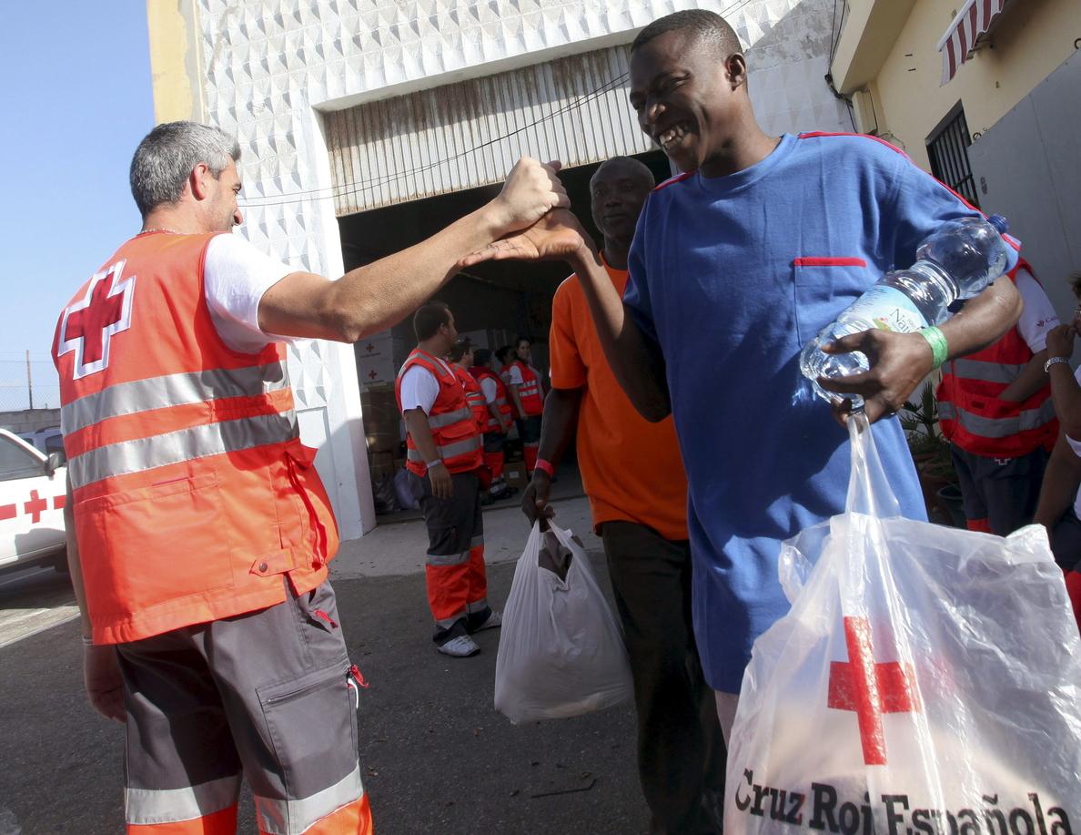 Baja a la mitad el número de inmigrantes acogidos en Tarifa (Cádiz)