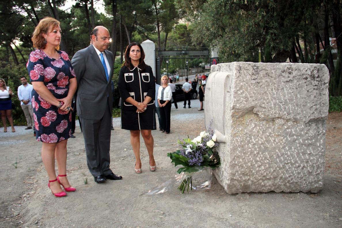 La Diputación recuerda en Alfacar a Federico García Lorca, cuyo legado «sigue vivo en todo el mundo»