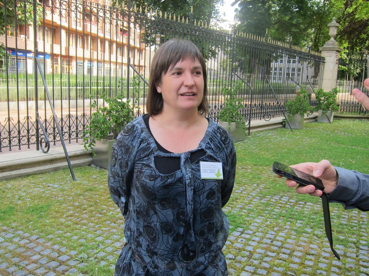 EH Bildu seguirá «sentada» en la ponencia de paz y asegura que su apuesta por lograr la pacificación es «total»
