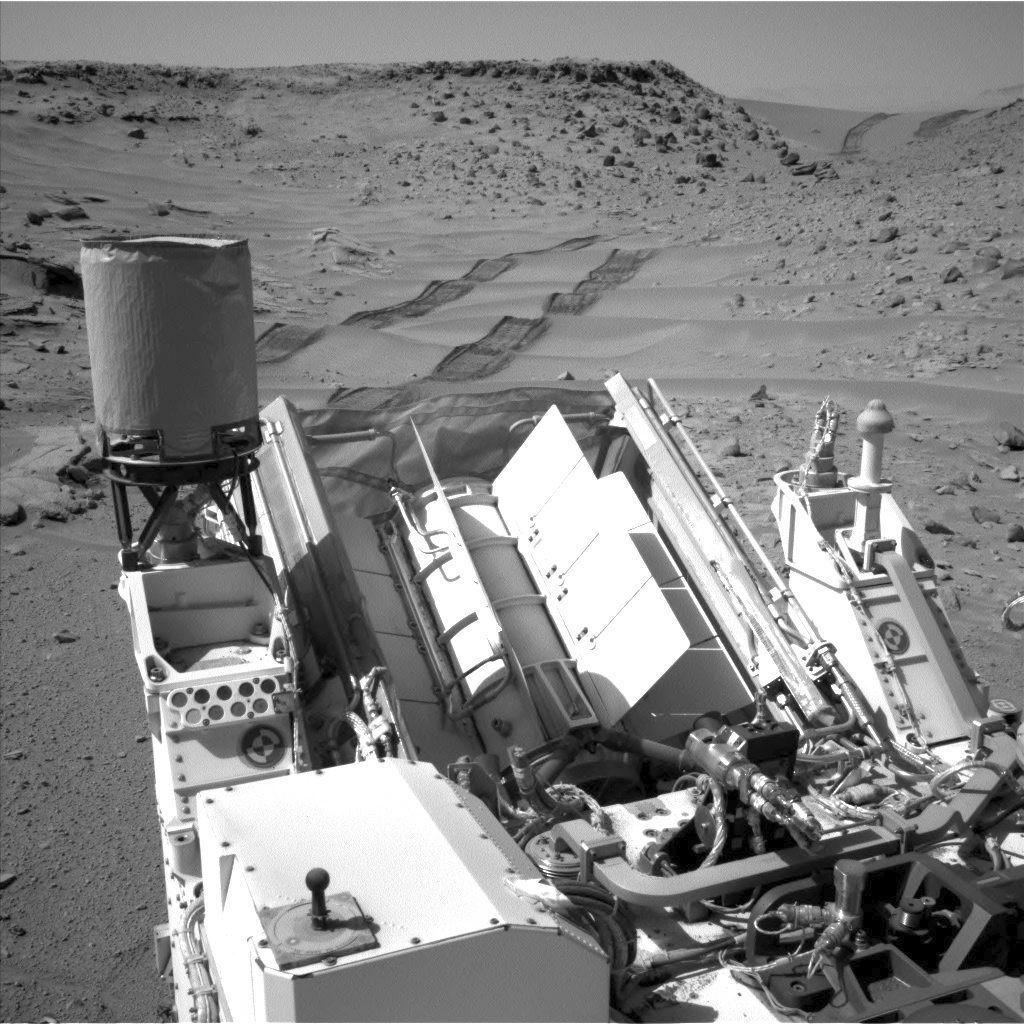 Curiosity se prepara para una nueva perforación en Marte