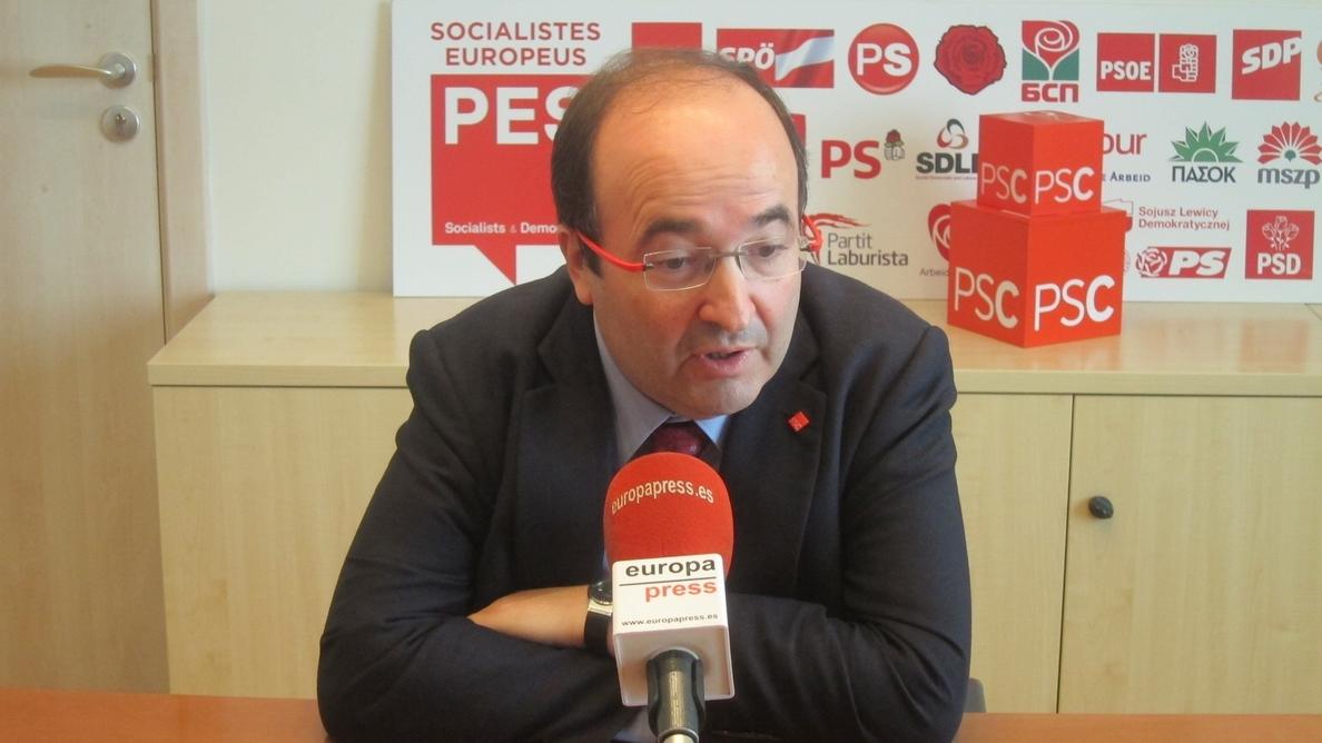 Miquel Iceta alerta a Mas de que ERC le llevará al «desastre»