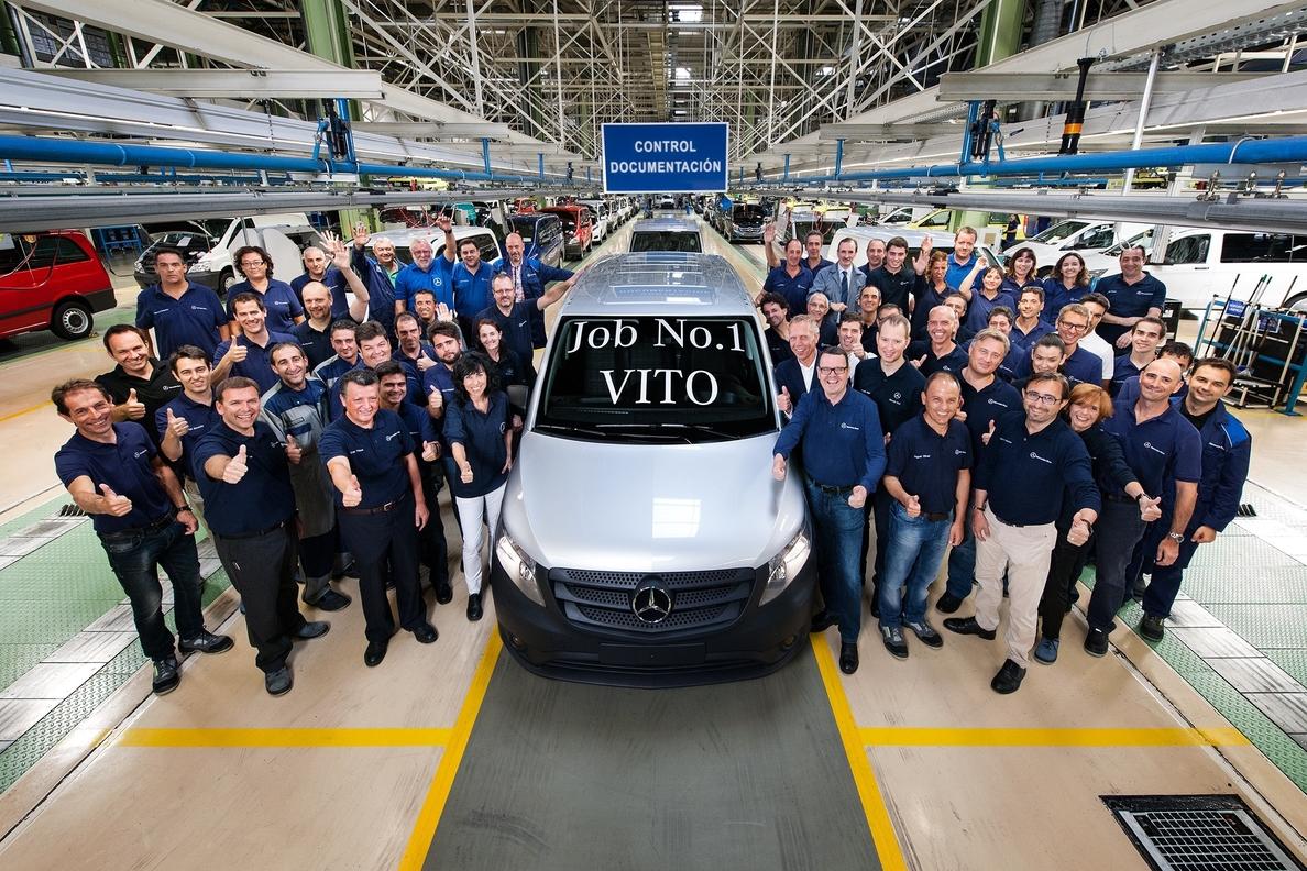 Mercedes-Benz inicia la producción en Vitoria de la nueva Vito