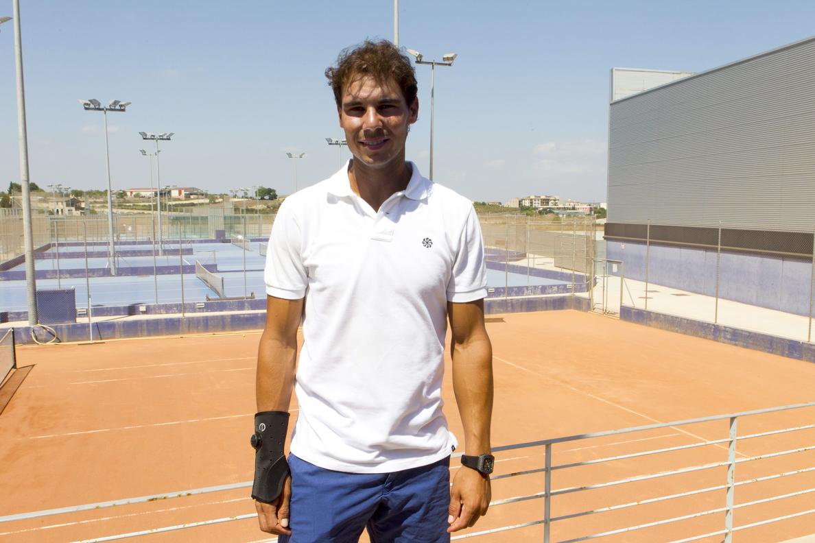 Rafael Nadal no irá al US Open de tenis por la lesión de muñeca