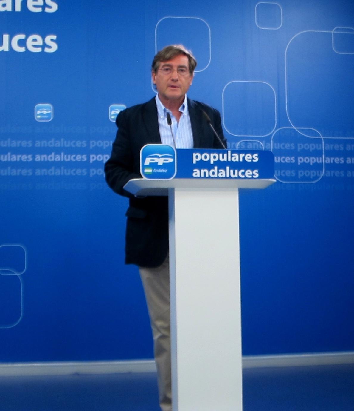 PP-A insiste en que Díaz debe «afrontar los muchos asuntos de corrupción que salpican» al PSOE-A y a su actual Gobierno