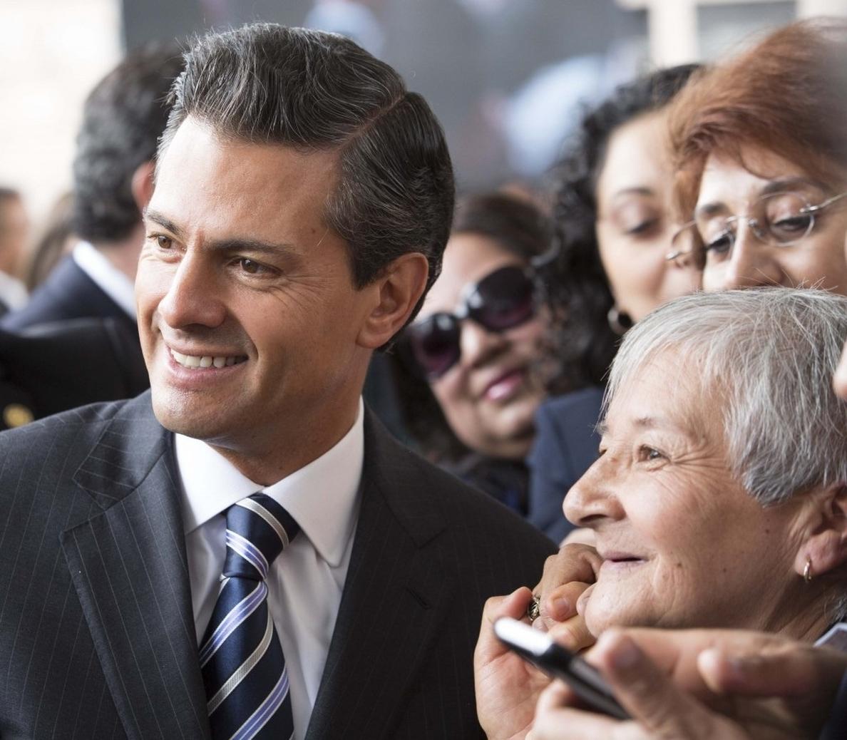 Peña Nieto mantiene su nivel de aprobación en el 46 por ciento