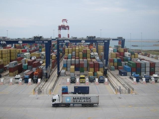 El Puerto de Barcelona incrementa un 15% interanual el tráfico de mercancías en julio