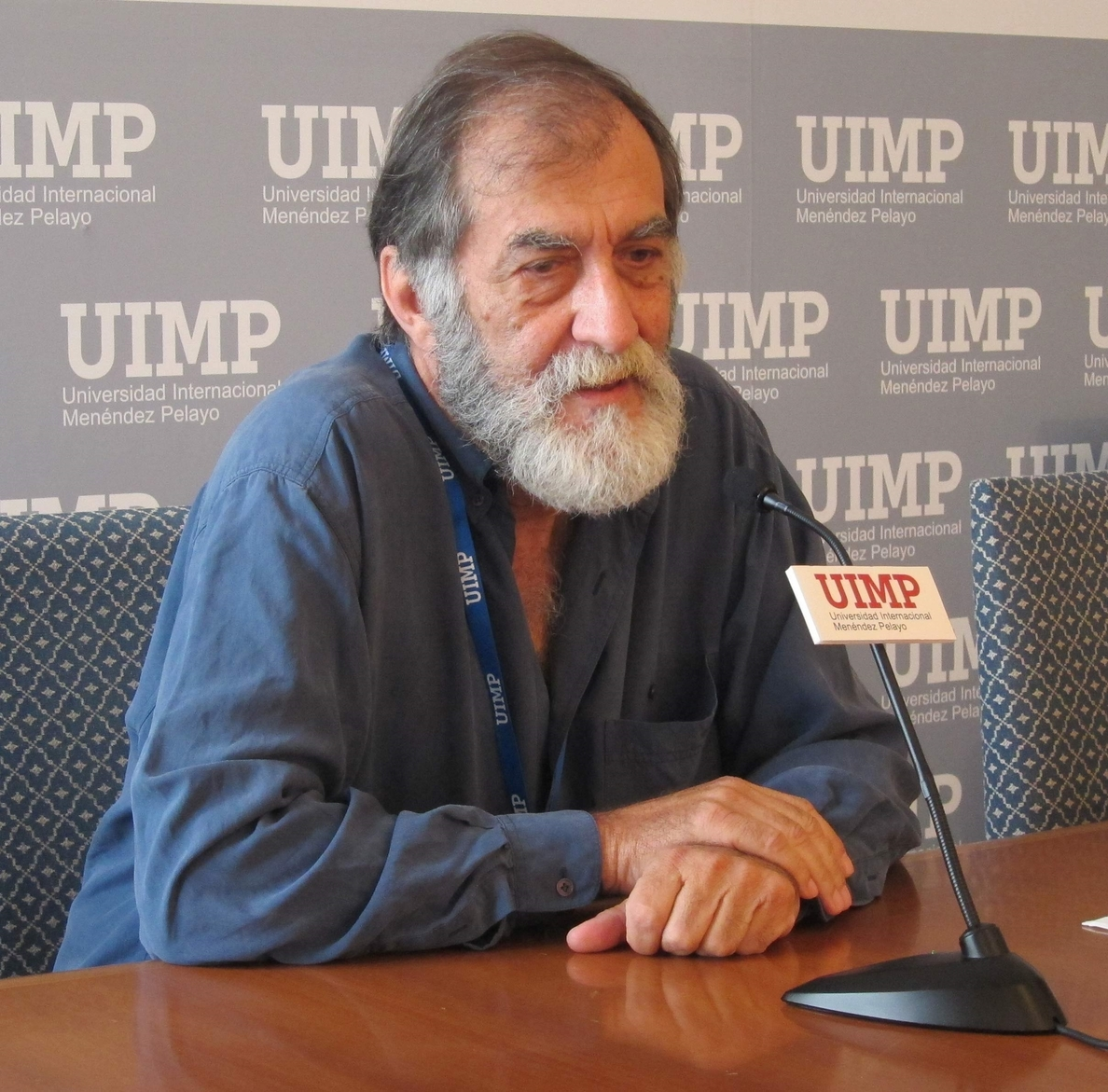 El actor Ramón Barea pide que los gestores y los políticos «bajen de la nube» y colaboren con el gremio del cine