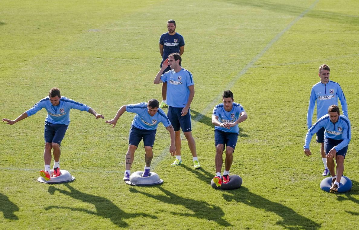Simeone cree que «no tiene sentido jugar una final a dos partidos»