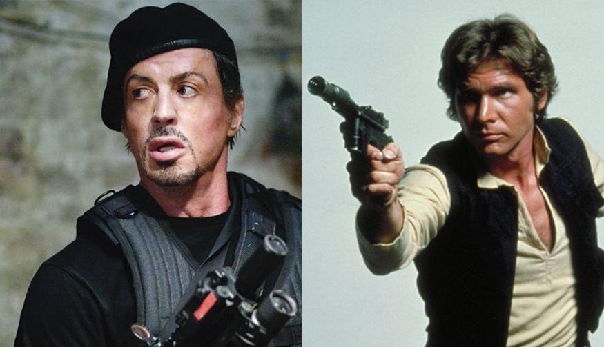 Sylvester Stallone quiso ser Han Solo en Star Wars