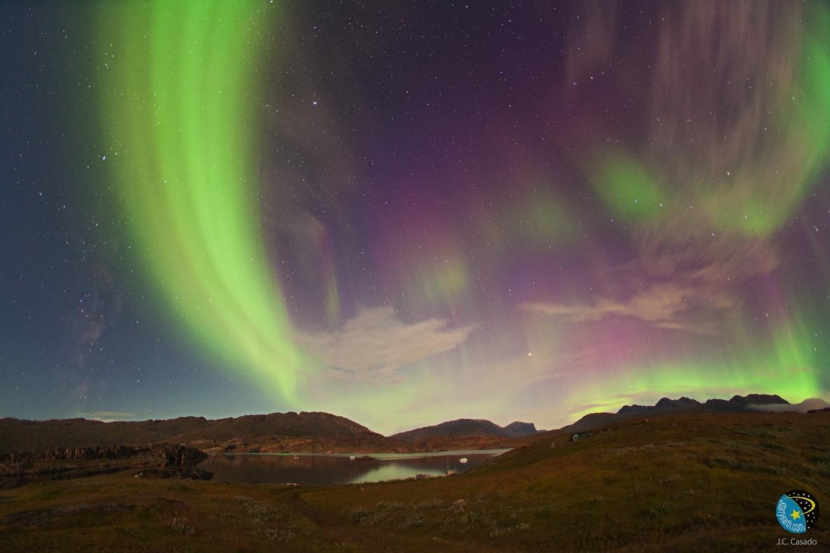 Una expedición del IAC retransmitirá auroras boreales por internet