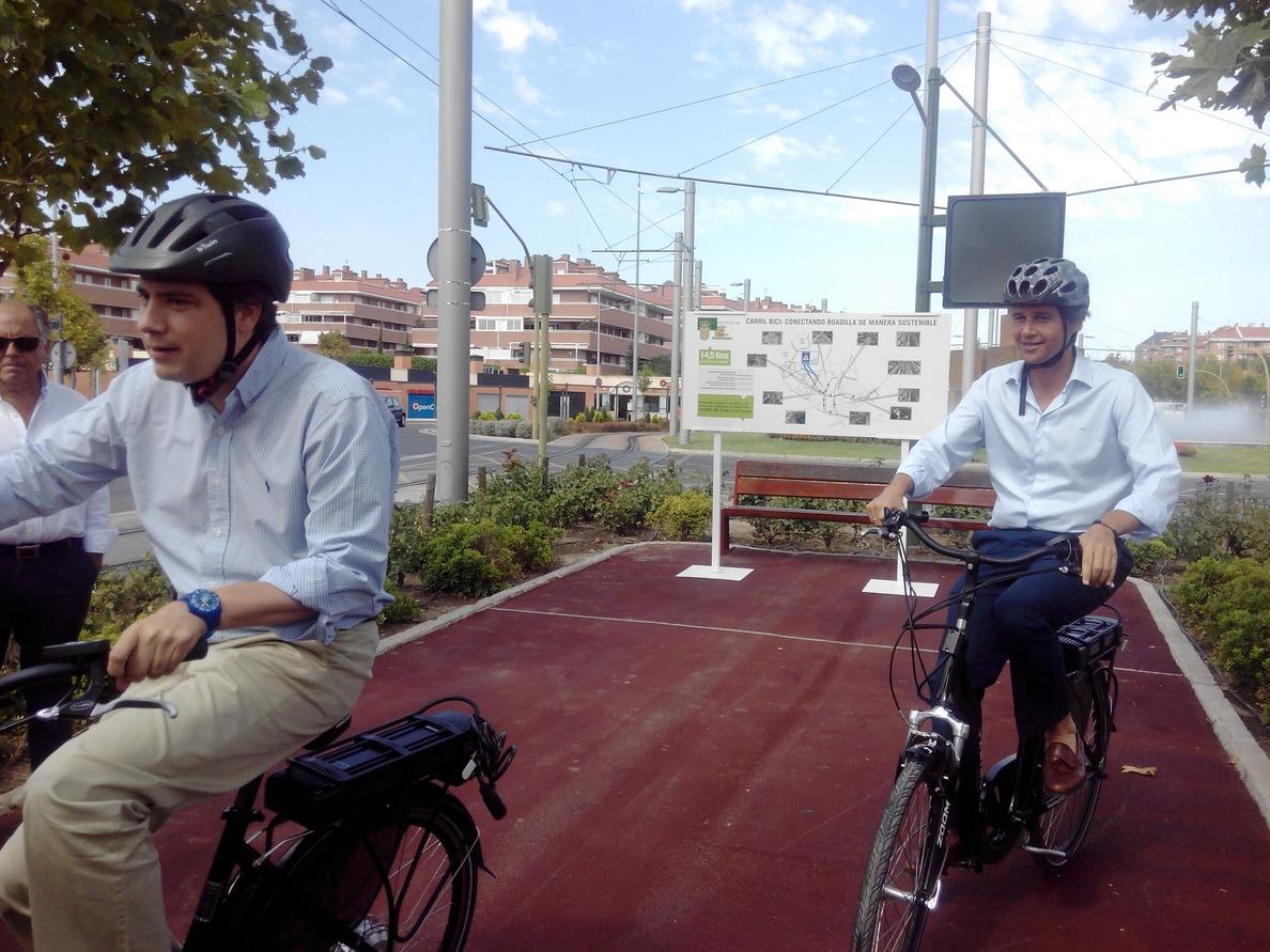 Un nuevo tramo de 7 kilómetros de carril bici conectará toda los tramos preexistentes del municipio