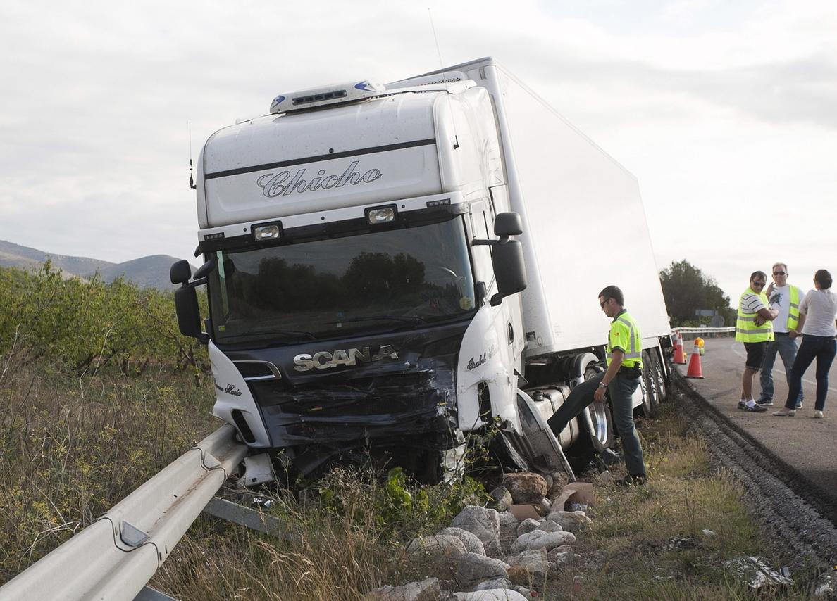 Los cinco muertos en el accidente de Castellón iban con el cinturón de seguridad