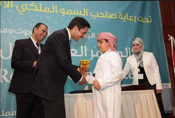 Adeeb Al Balooshi fabricó a los seis años un robot que limpiara la casa