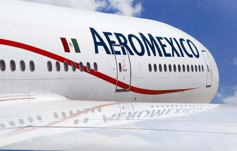 Aeroméxico transportó 9,8 millones de pasajeros hasta julio, un 15,3% más