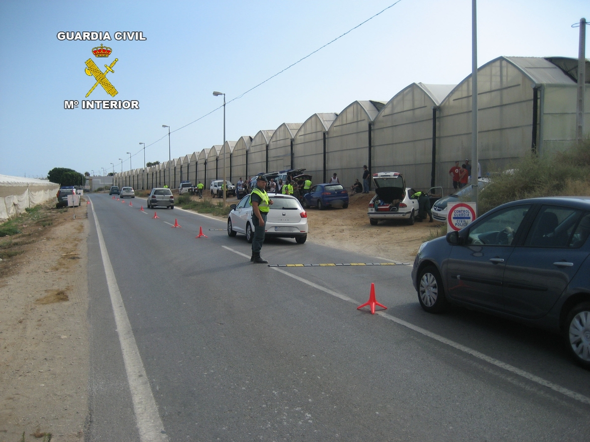 Detenidas cinco personas en el marco del Dreambeach Villaricos acusadas de llevar estupefacientes
