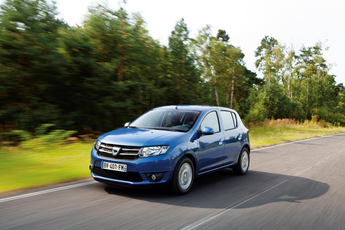 Europcar incorpora 150 unidades de los Dacia Sandero y Lodgy