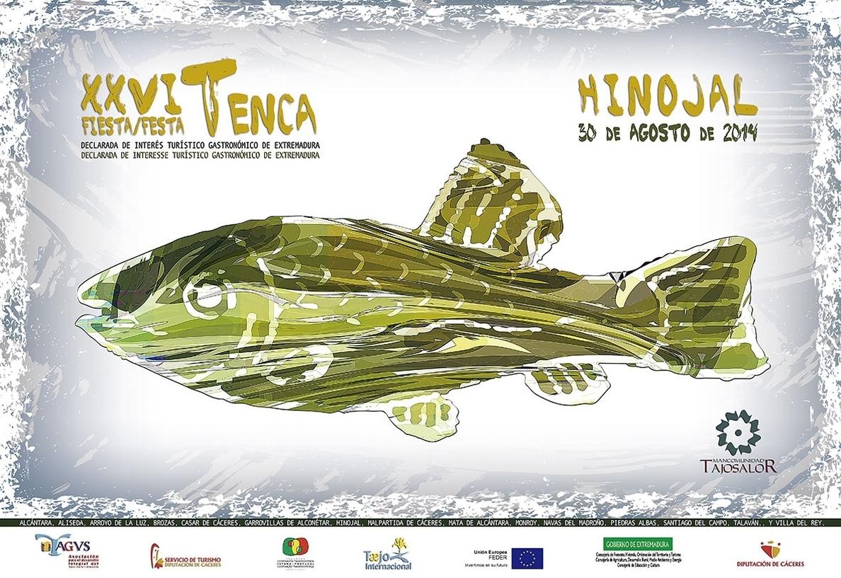La Fiesta de la Tenca llega este año a Hinojal (Cáceres) con degustaciones, conciertos y concursos