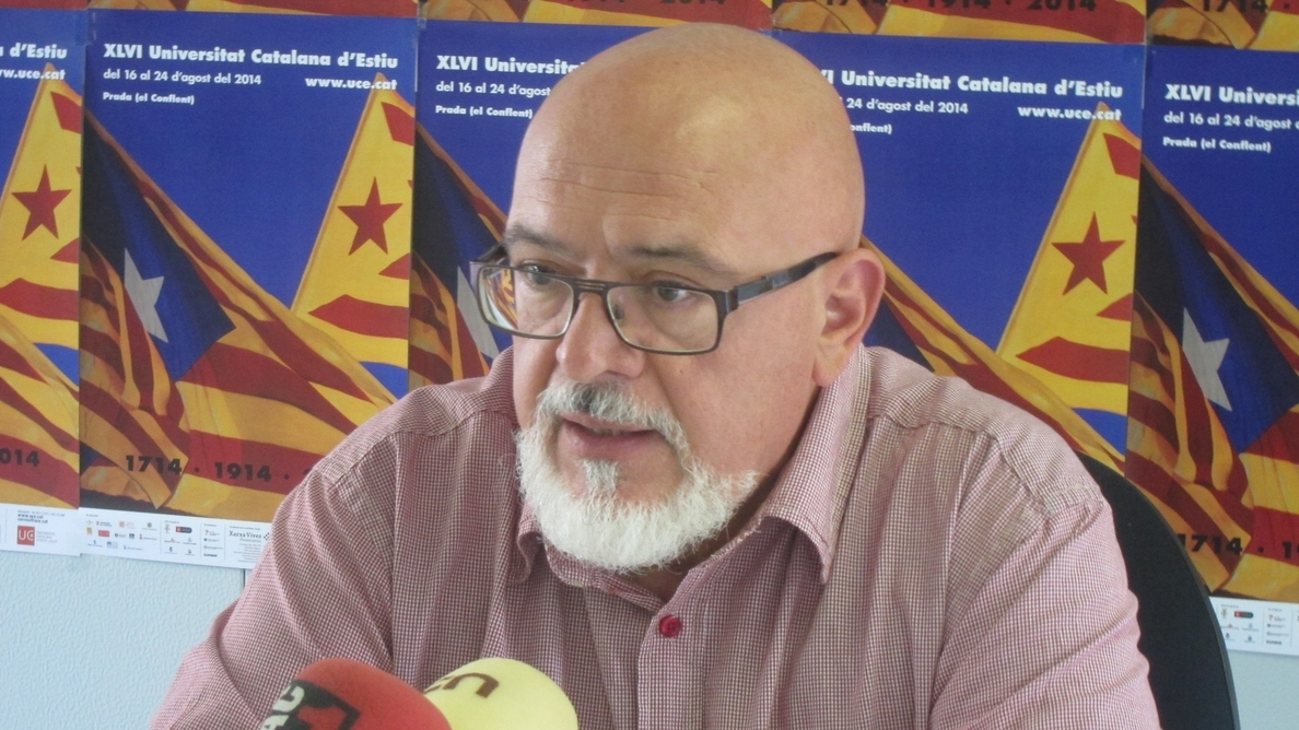 Huguet (ERC) ve irreversible la secesión pese al caso Pujol y lamenta la «bilis» del Estado