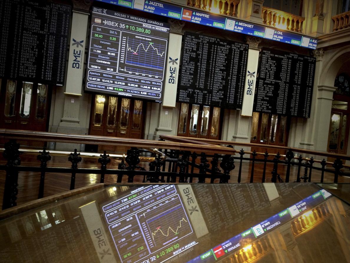 El IBEX 35 suaviza sus ganancias pese al éxito de la subasta de deuda