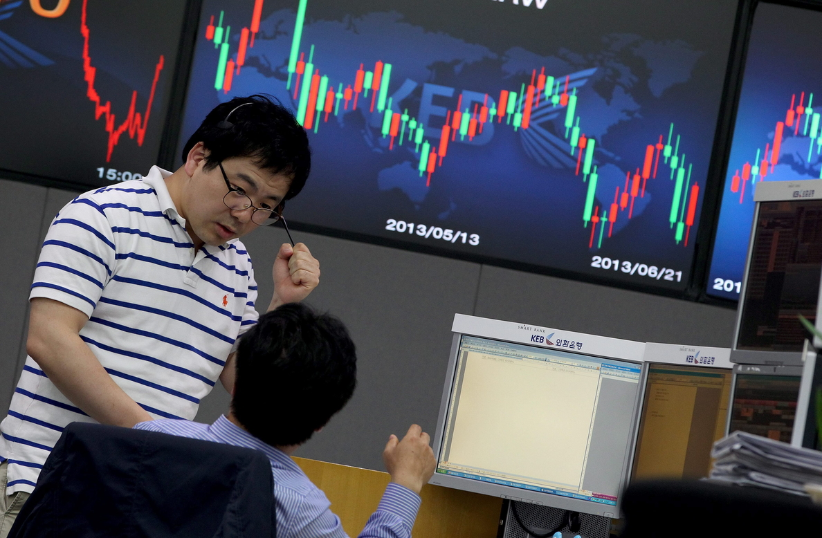 El Kospi surcoreano sube un 0,60 por ciento hasta los 2.065,46 puntos