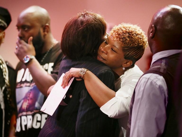La madre de Trayvon Martin manda una carta a la madre de Michael Brown
