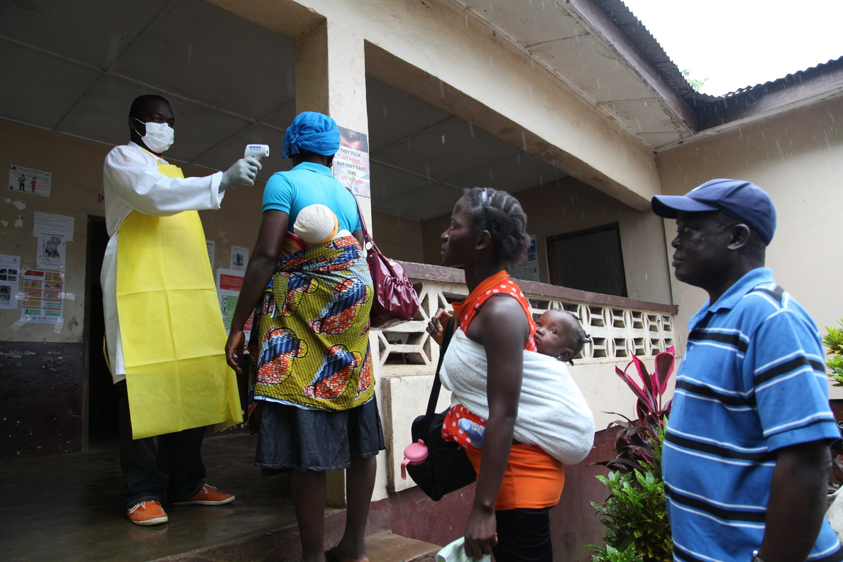 «El Ébola podría dejar 200 niños huérfanos a final de año en Sierra Leona»