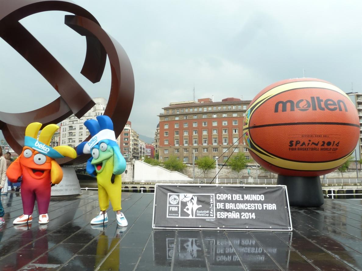 Las mascotas del Mundial de Baloncesto visitarán el Parque Europa y se fotografiarán con los visitantes