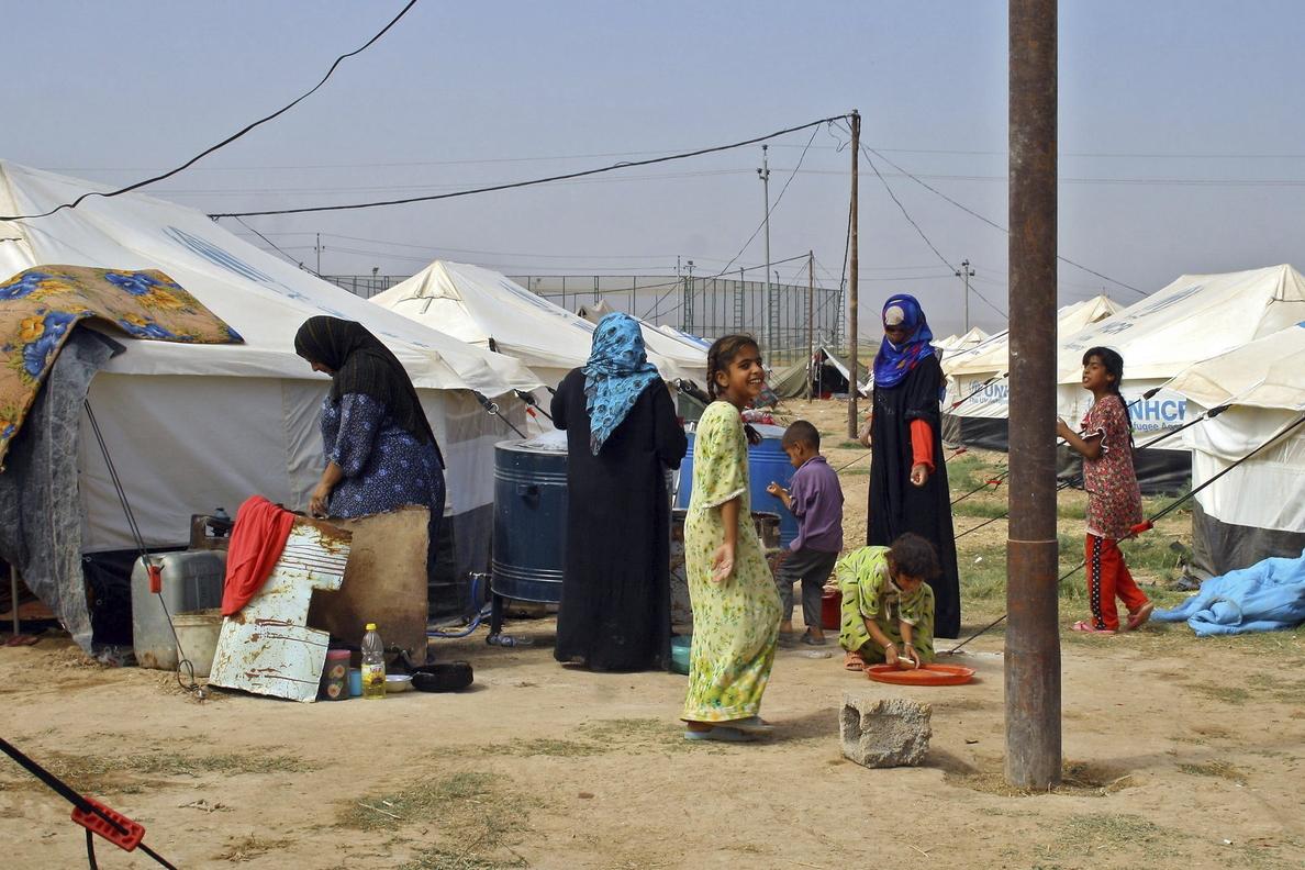 La ONU ayudará por tierra, mar y aire a los desplazados por los yihadistas