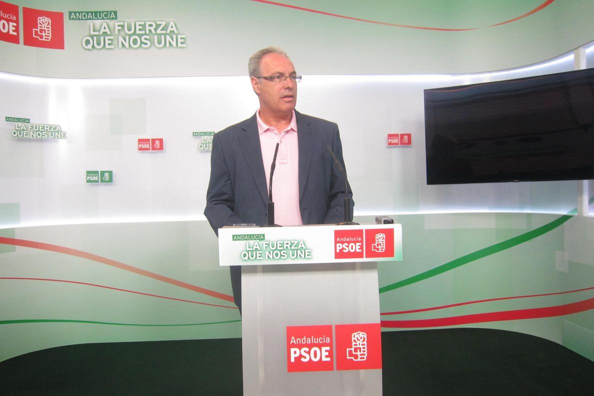 PSOE-A pide a Moreno que «limpie su casa antes de acusar a nadie» y que actúe con la «misma contundencia» que con Ojeda