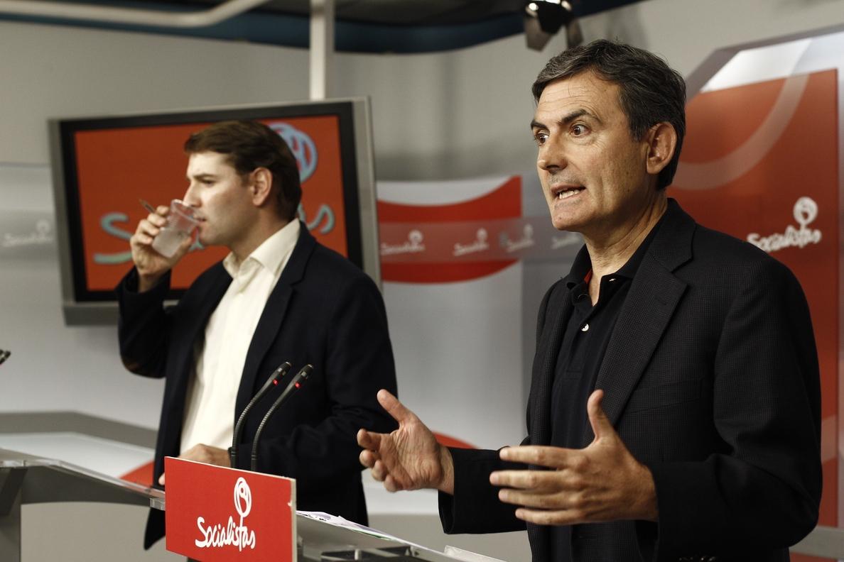 El PSOE no se plantea cambiar la financiación de Euskadi y Navarra
