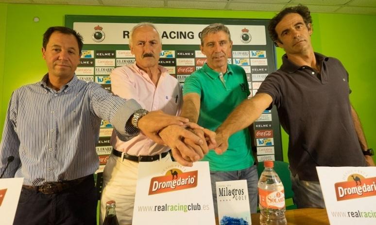 El Racing de Santander renueva a su técnico Francisco Fernández hasta 2016