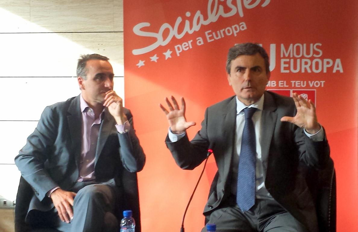 """El PSOE: """"¿Donde está Guindos que decía que las exportaciones iban como un tiro?"""""""