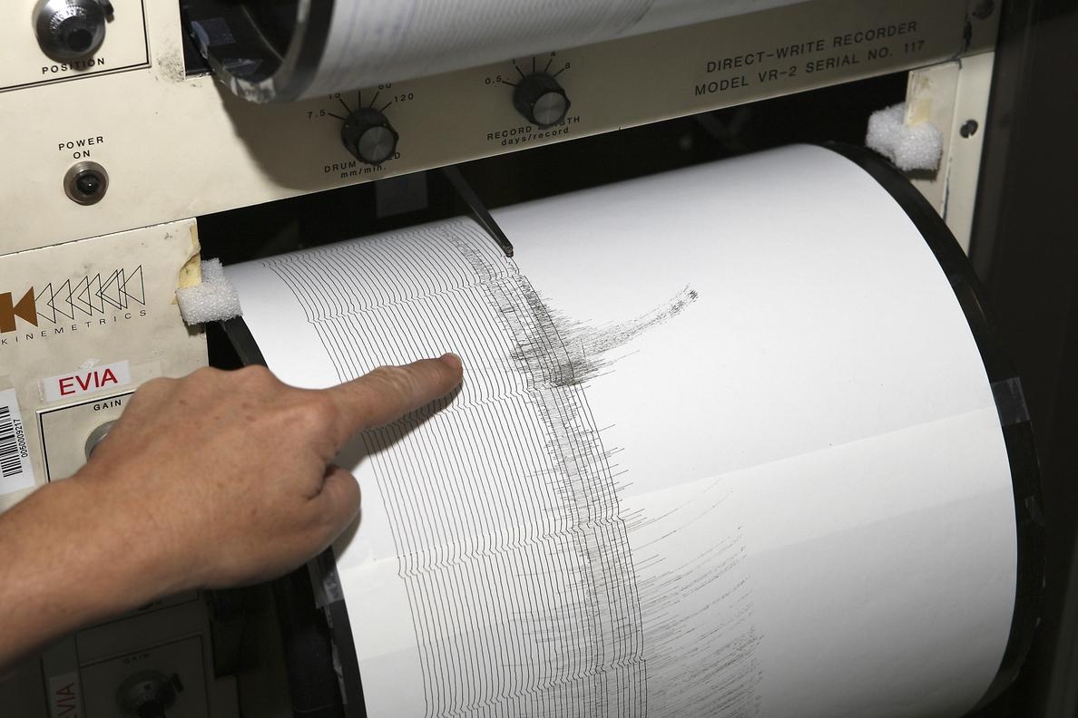 Registrado un terremoto de magnitud 4,3 en varias provincias andaluzas