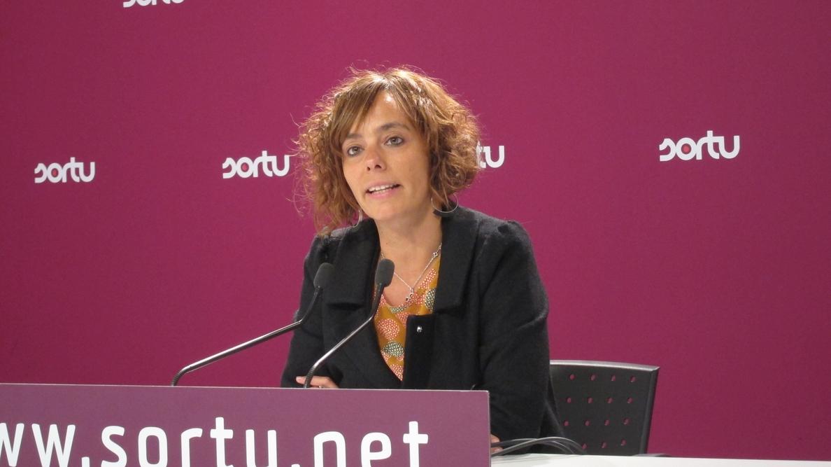 Sortu pide al Gobierno vasco que «se enfrente» a la política penitenciaria del PP y adopte el papel «protagonista»